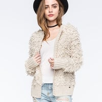 Roxy Loose Cannon Womens Cardigan Cream  In Sizes