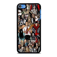 HORROR MOVIE COLLAGE iPod Touch 7 Case