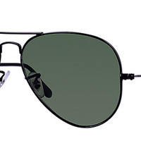Ray-Ban RB3025 L2823 58-14 AVIATOR CLASSIC Black sunglasses | Official Online Store US