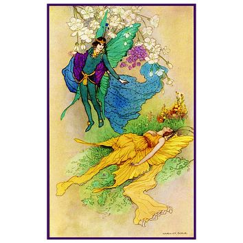 Goble's Shakespeare's Midsummer Nights Dream Counted Cross Stitch Chart Pattern