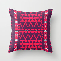 Mix #376 Throw Pillow by Ornaart