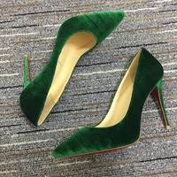 Christian Louboutin Cl Pumps High Heels Reference #02bk2 - Best Deal Online