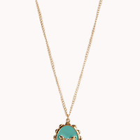Cameo Bow Necklace