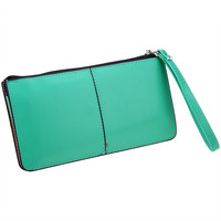 Zipper Purse Clutch Wallet