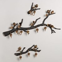 Budding Branch Hook by Anthropologie in Bronze Size:
