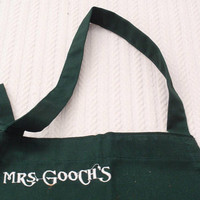 Mrs. Gooch's Apron Green Vintage Collectible Whole Foods
