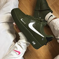 Nike Air Force 1 Utility Low-Top Sneakers Shoes