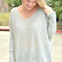 Just Another Dream Sweater - Gray