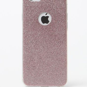LA Hearts Pink Glitter iPhone 6+/6+s Case - Womens Scarves - Pink - One