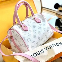 Onewel Louis Vuitton Lv pillow bag Monogram Tote Boston bag White