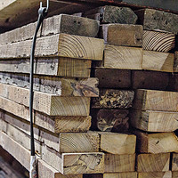 """Reclaimed Antique Longleaf Heart Pine 2""""x 6"""" FREE SHIPPING"""