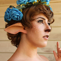 Handmade Faun or Satyr Ears-- latex ear tips, great for cosplay, costumes, Mr Tumnus