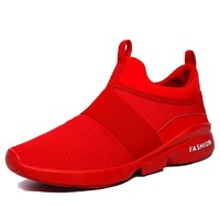 2018 New Fashion Men's Casual Running Sport Shoes Man Breathable Flats Shoes