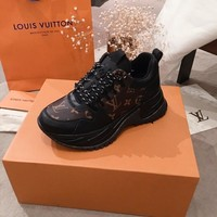 LV Louis Vuitton Man popular Casual Shoes Men popular Boots popularable Casual leather Breathable Sneakers Running Shoes Sneakers