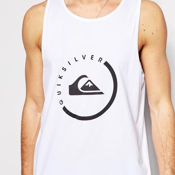Quiksilver Singlet with Logo