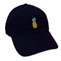 New  Cute Summer Pine apple Print Hat
