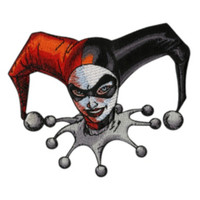 DC Comics Harley Quinn Iron-On Patch