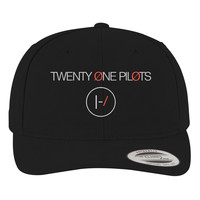Twenty One Pilots Brushed Embroidered Cotton Twill Hat