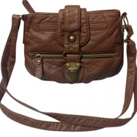 American Rag Brown Purse Hand Cross Body Bag 31% off retail