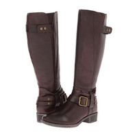 Hush Puppies Chamber 14BT Wide Calf Dark Brown WP Leather - Zappos.com Free Shipping BOTH Ways