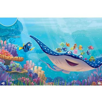 5D Diamond Painting Mr Ray and Dory from Finding Nemo Kit