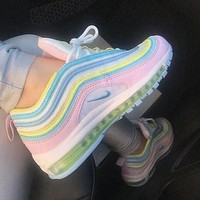 Nike Air Max 97 Rainbow Sneakers Sport Shoes