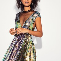 Dance Til Dawn Mini Dress