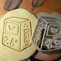 BMO Adventure time Cookie Cutter - Made from Biodegradable Material