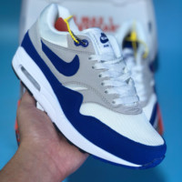 HCXX N390 Nike Air Max1 OG 30th anniversary Air Cushioning Running Shoes Grey Blue