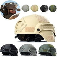 Outdoor Tactical Helmet Airsoft Military Combat Riding Hunting Helmet Gear Paintball Head Protector MICH2001 hunting Accessories