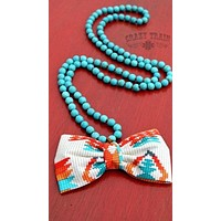 Buffalo Bow Turquoise Necklace from Crazy Train