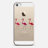 TIFFANY FLAMINGO Crystal Clear Transparent iphone case iPhone 5s case by Monika Strigel   Casetify