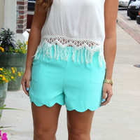 You're My #1 Shorts - Mint