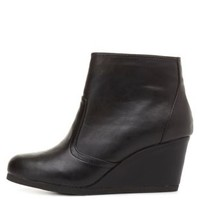 City Classified Wedge Ankle Booties