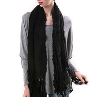Squigly Wave Scarf | Scarves at Pink Ice