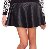 Blink Skater Skirt - Black