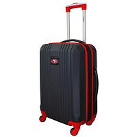 San Francisco 49ers Luggage Carry-on 21in Hardcase two-tone Spinner 100% ABS-RED