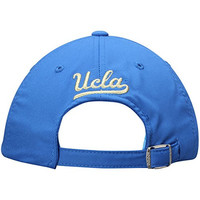 SLD ADJUSTABLE SLOUCH BASEBALL HAT BLUE WITH UCLA BLOCK OVER BRUINS BLOCK IN YELLOW EW35Z
