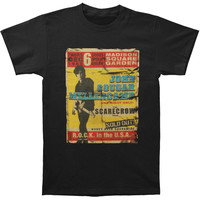 John Mellencamp Men's  Madison Square Garden Slim Fit T-shirt Black