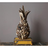 Driftwood Pineapple -- 16-1/2-in