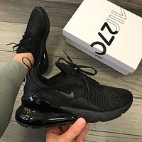 Nike Air Max 270 men and women The air cushion shoes-5