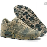 """""""NIKE"""" Trending Fashion Personality Camouflage Casual Sports Shoes green"""