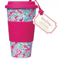 Lilly Pulitzer Travel Mug: Lobstah Roll