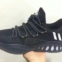 """Adidas"" Men Sport Casual Multicolor Flyknit Basketball Shoes Sneakers"