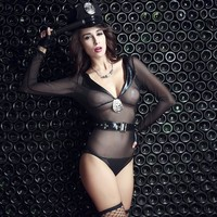 Cute Hot Deal On Sale Sexy Stretch Uniform Cosplay Exotic Lingerie [6596189699]
