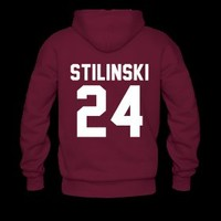 Stiles lacrosse hoodie (FRONT AND BACK)