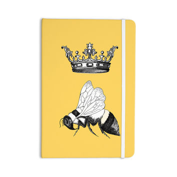 """Catherine Holcombe """"Queen Bee"""" Canary Yellow Everything Notebook"""