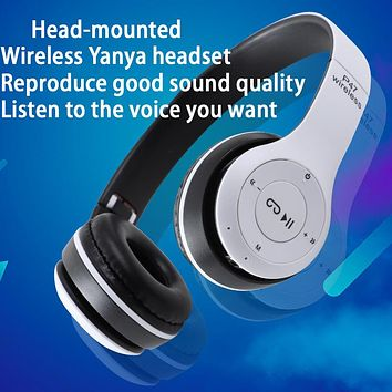 The new subwoofer headset bluetooth headset headset mobile computer vibrato music game universal wired headset