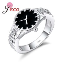 WATCH JEWELRY Punk Style Sterling Silver Analog For Women and Men