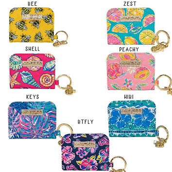 Simply Southern Preppy ID Coin Button Wallet